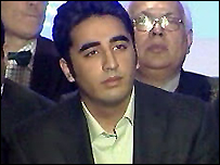 Bilawal Bhutto addresses London news conference, 8 January