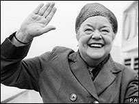 Ena Sharples (played by Violet Carson)