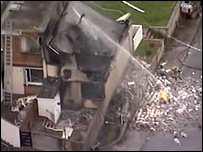 Scene of Southway house explosion