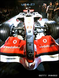 The new McLaren MP4-23