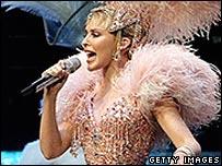 Kylie Minogue in concert
