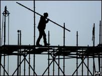 Trabajador de la construcción en Nueva York
