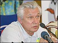 Senegal coach, Henri Kasperczak