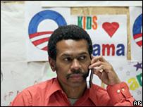 Barack Obama campaign worker
