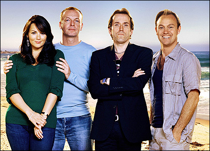 Martine McCutcheon, Hugo Speer, Ben Miller and Jason Donovan