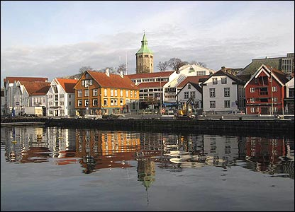 The waterfront in Stavanger