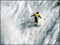 Extreme heli-skiing