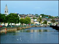 Cork city - copyright Failte Ireland South West