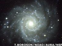 Spiral galaxy (T.Boroson)