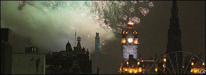 Edinburgh New Year celebrations