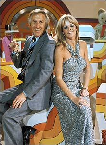 Bruce Forsyth and Anthea Redfern