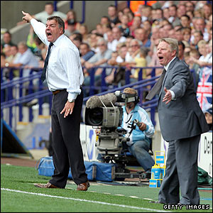 Sam Allardyce and Sammy Lee