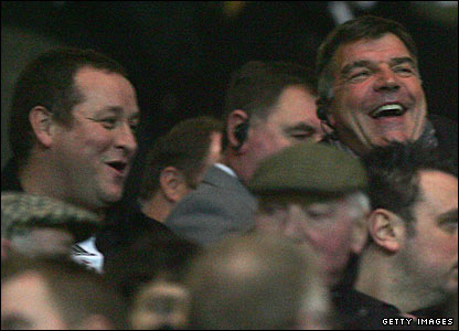 Newcastle owner Mike Ashley and Allardyce