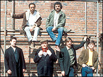 The cast of Boys from the Blackstuff