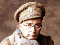 Tony Robinson as Baldrick in Black Adder