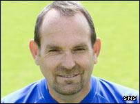 Gretna director of football Mick Wadsworth
