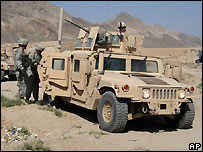 US troops in Afghanistan - file photo