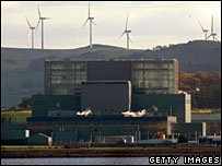 Hunterston power station and wind turbines. Image: Getty