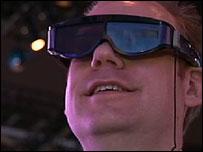 3D TV headset