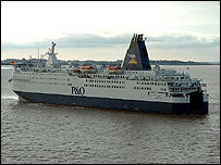 P&O ferry Pride of York