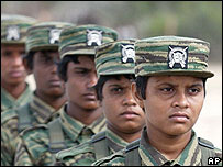Tamil Tiger female fighters