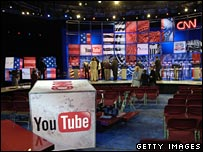 YouTube and CNN presidential debate