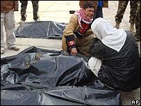 Iraq mortuary