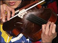 Reclusa violinista