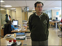 Javier Bezos, coordinador del proyecto Wikilengua