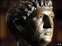 Hadrian head