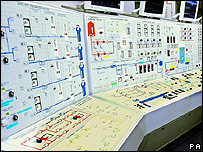 control room of a nuclear power station (Image: PA)