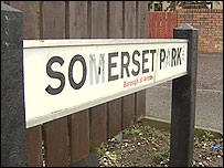 The pipe bomb was found at a house in Somerset Park