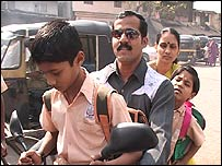 Vijay Pawar and family