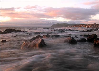 Sunrise on Fearn Peninsula