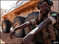 Peacekeeper in Sudan