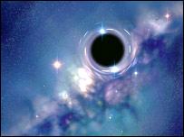 Concept image of a black hole (BBC)