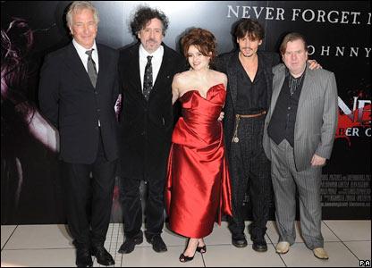 Sweeney Todd cast