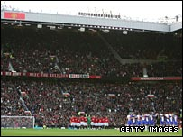 Old Trafford is a sell-out for every United game.