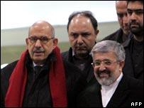 محمد البرادعي ومحمد سعيدي