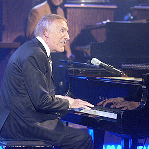 Bruce Forsyth performs on an edition of Parkinson