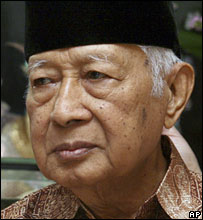 Former Indonesian President Suharto at celebrations for his 86th birthday (08/06/2007)