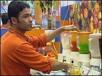 Baghdad juice seller:
