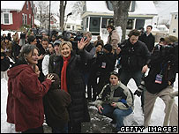 Hillary Clinton in New Hampshire