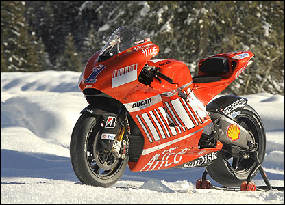 ducati 2011 motogp bike. Ducati say their new ike is