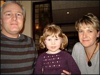 Matt, Ellie and Stephanie Jones