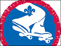 Scout street sports badge (copyright: Scouts Association)