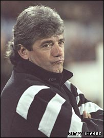 Former Newcastle manager Kevin Keegan