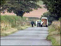 The country lane near Pattingham