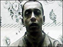 Colombian soldier Pablo Emilio Moncayo