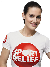 Kirsty Gallagher is a loyal Sport Relief Supporter